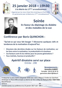 Flyer conference motivation